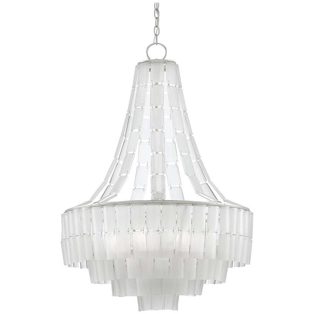 Currey and Company Vintner Blanc Chandelier