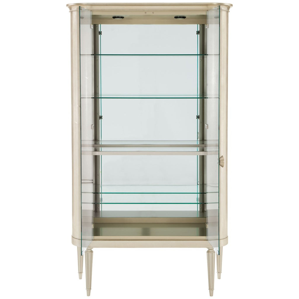 Caracole Classic Time to Reflect Display Cabinet