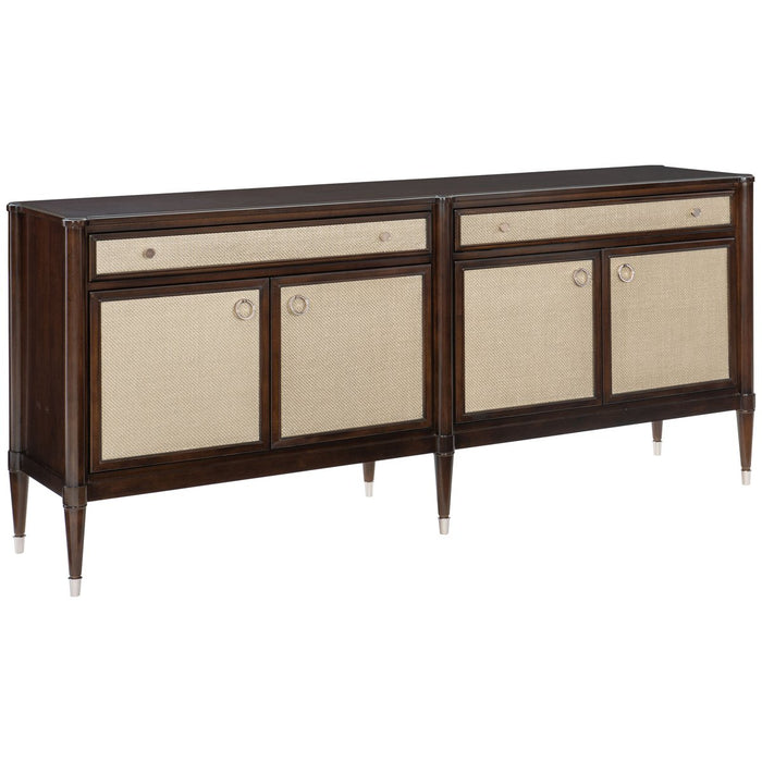 Caracole Classic The Silver Screen Sideboard