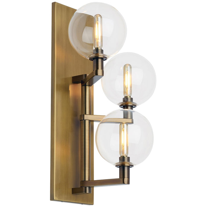 Tech Lighting LED Gambit Triple Wall Sconce