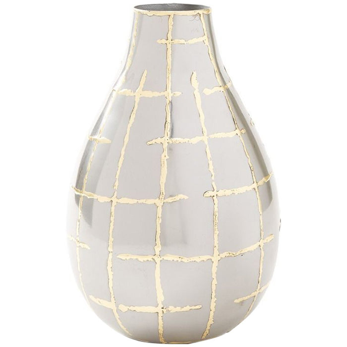 Bungalow 5 Loom Vase - Brass Accents