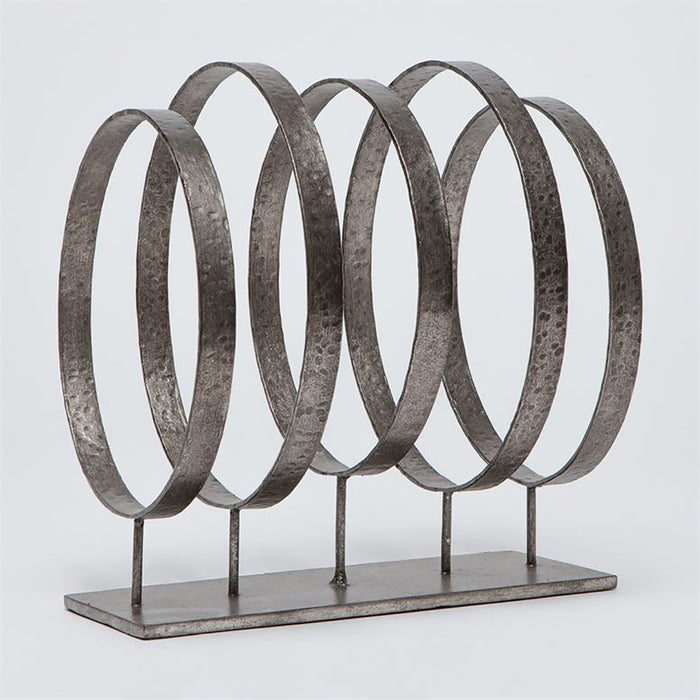 Made Goods Reed Lineal Metal Rings