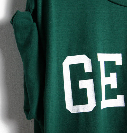 GEEK Print Green T-Shirt - The Style Syndrome  - 3