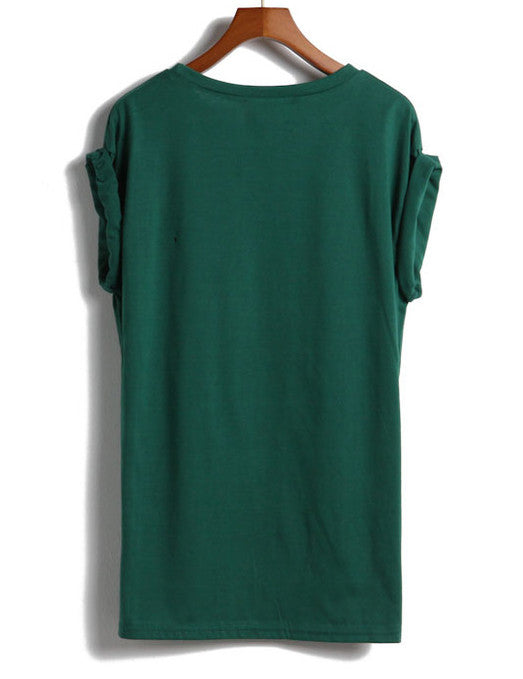 GEEK Print Green T-Shirt - The Style Syndrome  - 2