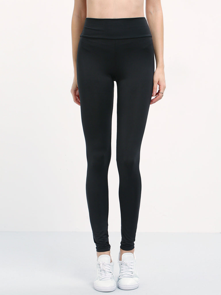 Elastic Waist Slim Leggings