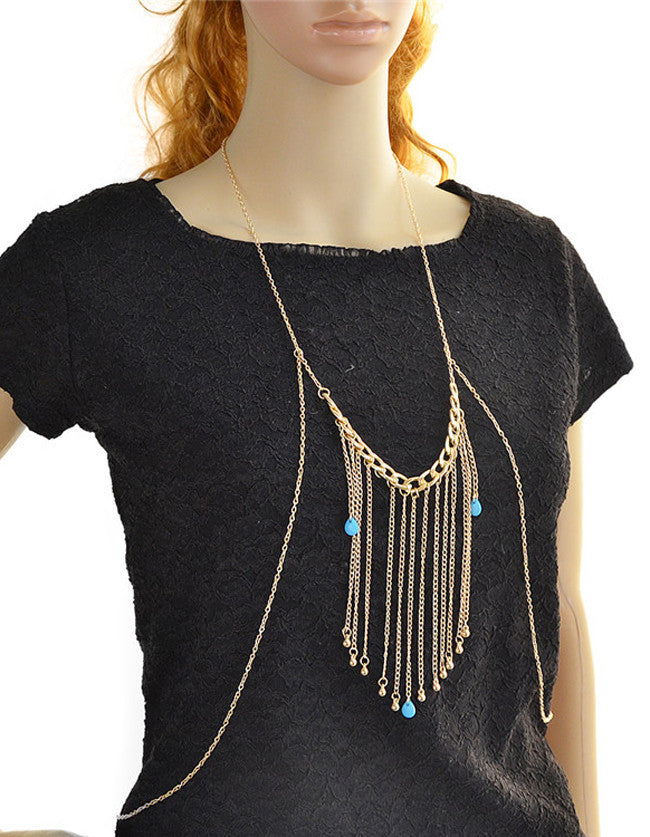 Tassel Hanging Sexy Body Chain - The Style Syndrome  - 1