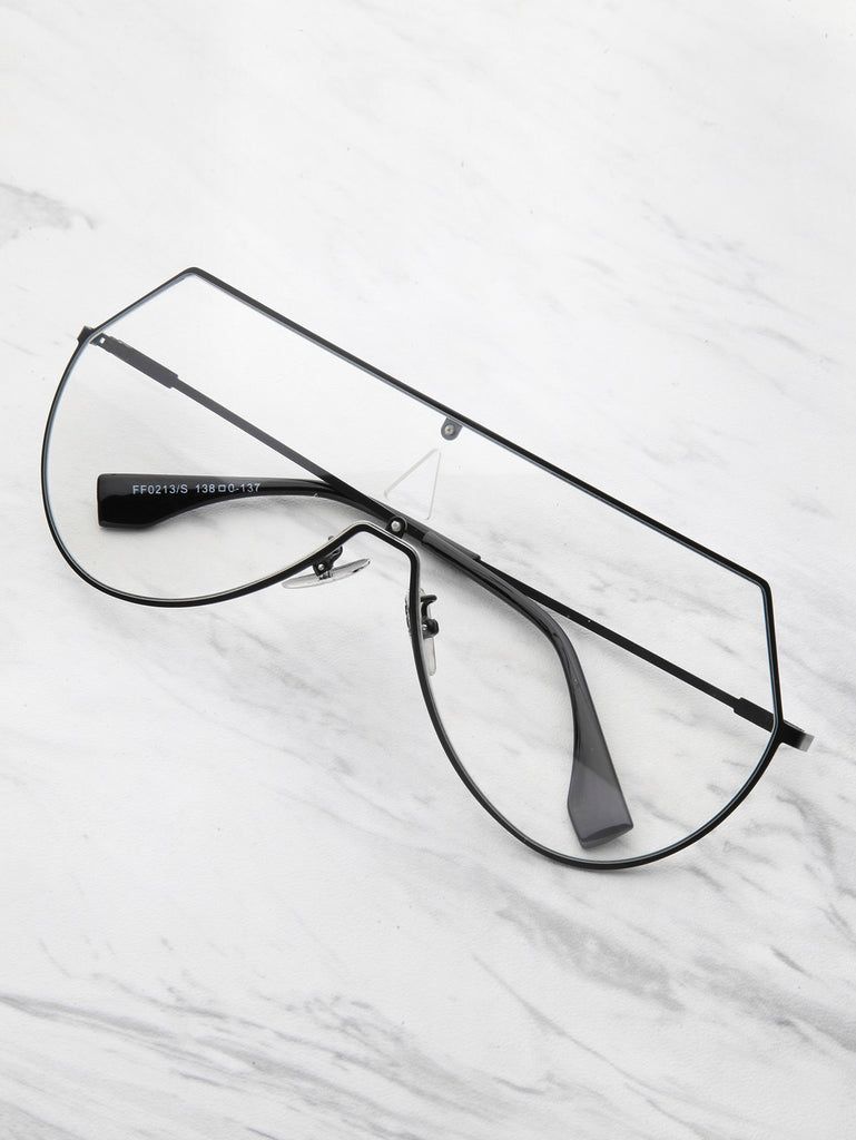 RZX Triangle Cut Visor Glasses