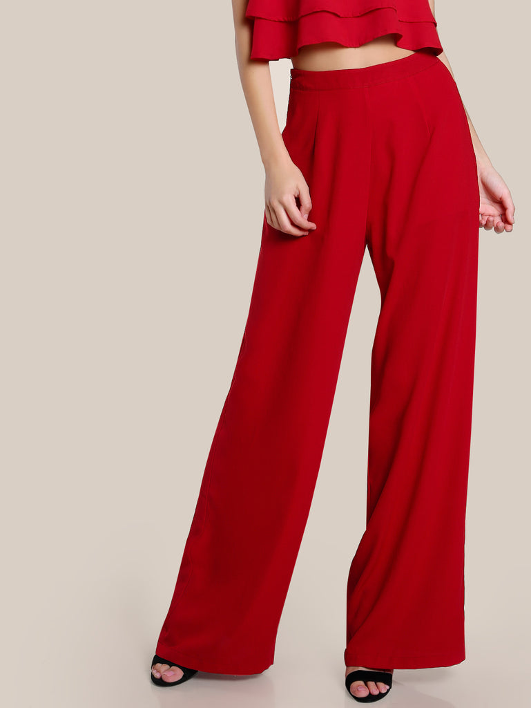 RZX High Rise Wide Leg Pants
