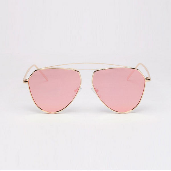 Hollow Bridge Aviator Sunglasses - The Style Syndrome  - 1