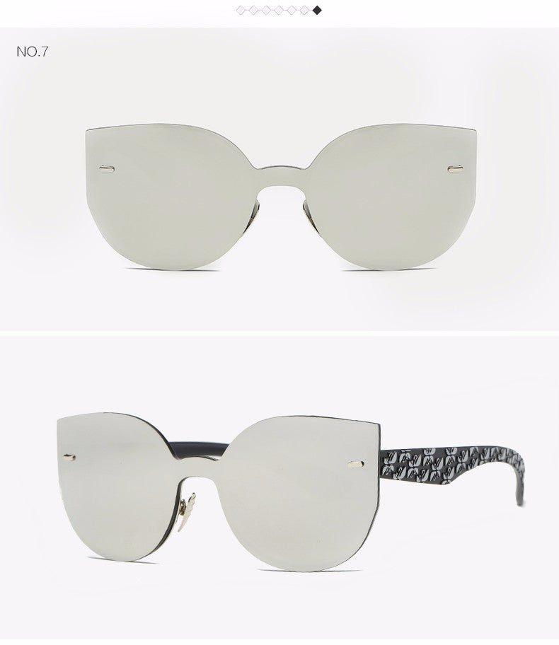 RZX Conjoined Cat Eye Sunglasses
