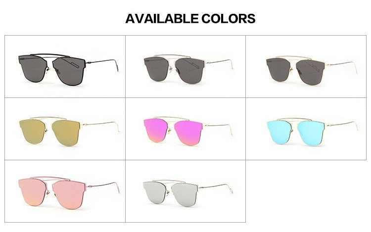Reflective Sunglasses - The Style Syndrome  - 10