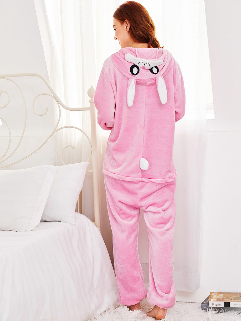 Drop Crotch Rabbit Onesie