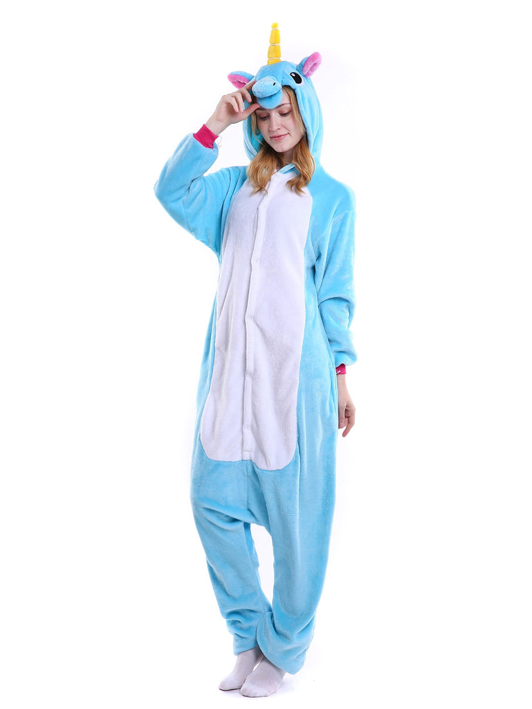 Zip Back Unicorn Plush Onesie