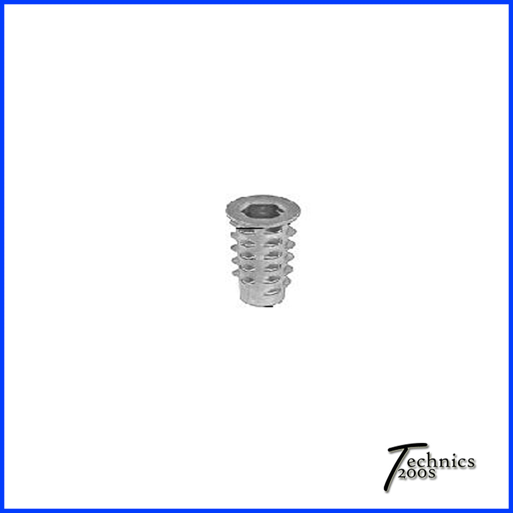 Threaded Rubber Base Foot Nut / Insert