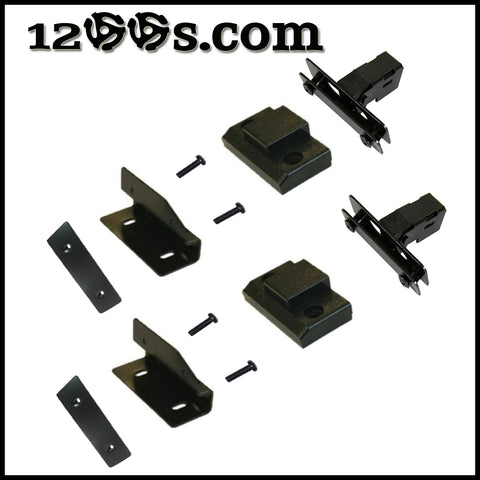 M3D / MK5 / M5G Conversion Dust Cover Hinge Kit (All Parts Included) - No Dust Cover