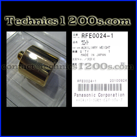 GLD / LTD GOLD LIMITED Auxiliary Counter Sub Weight