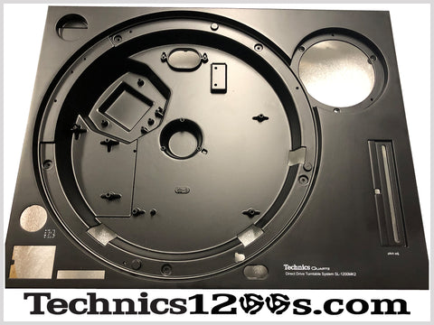 Technics 1200 MK2 Custom Matte Black Cabinet / Top / Plinth