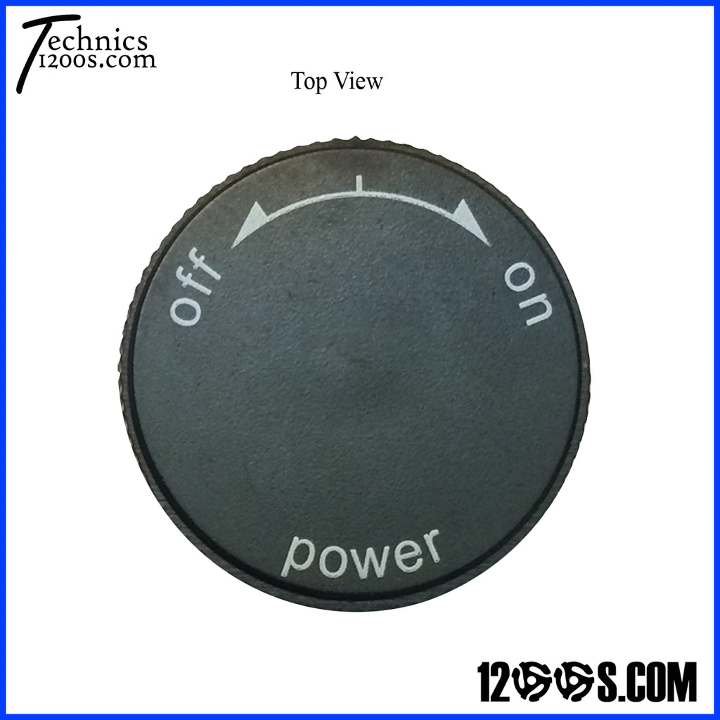 Power On / Off Knob Top (CAP ONLY)
