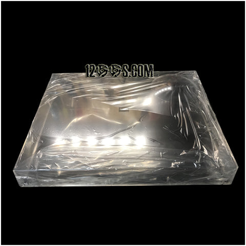 SL-1200 SL-1200 / 1210 MK7 / SL-1500C Dust Cover (Will Fit Legacy Models) Clear No Tint - With or Without hinges