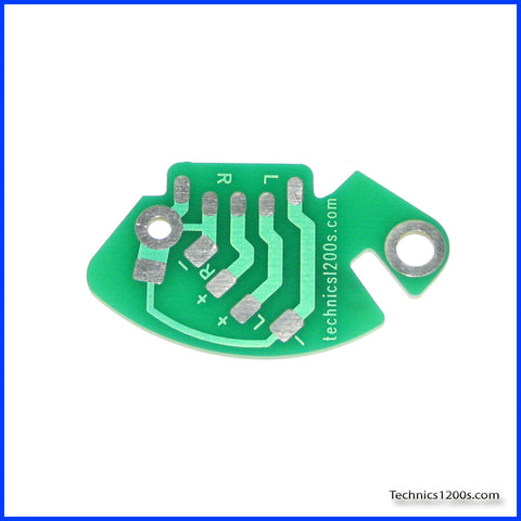 RCA Phono Printed Circuit Board - PCB (Internal Ground Version)