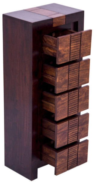 Side view of Chest of Drawers