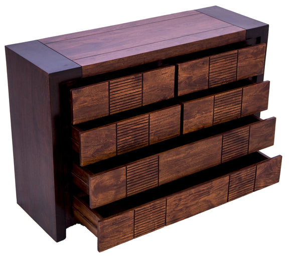 Chest of Drawers with open drawers