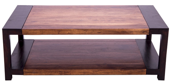 Front and top view of coffee table