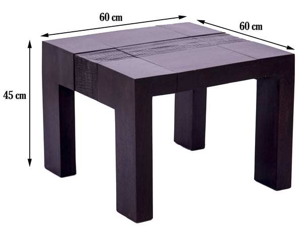 dimensions of square Coffee Table