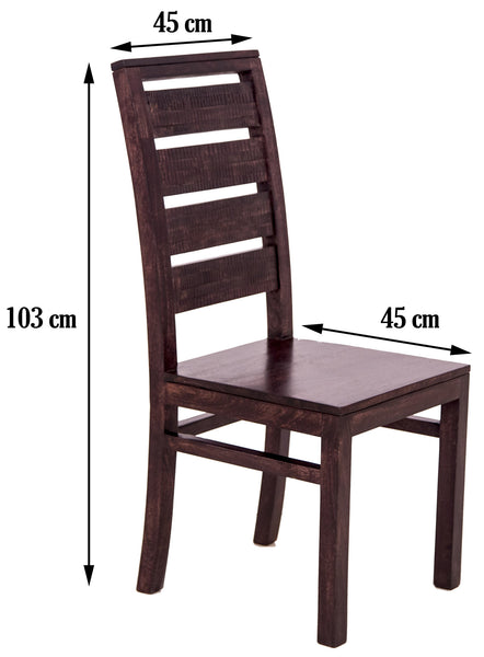 Image showing dimensions of the chair