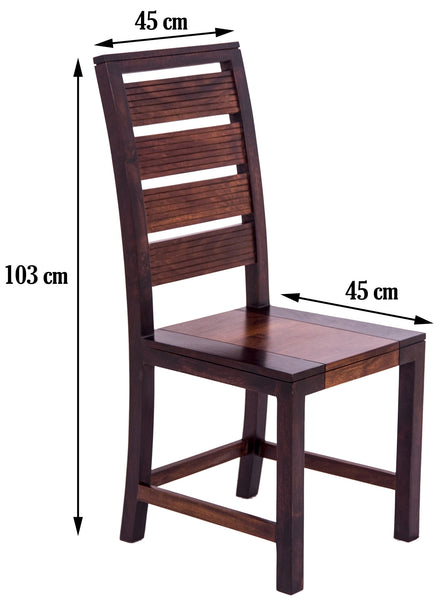 Image showing dimensions of chair