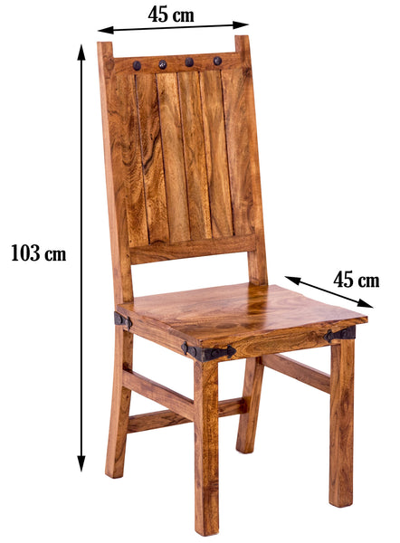 dimensions of dining chair