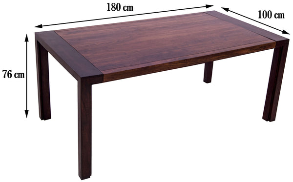 dimensions of dining table