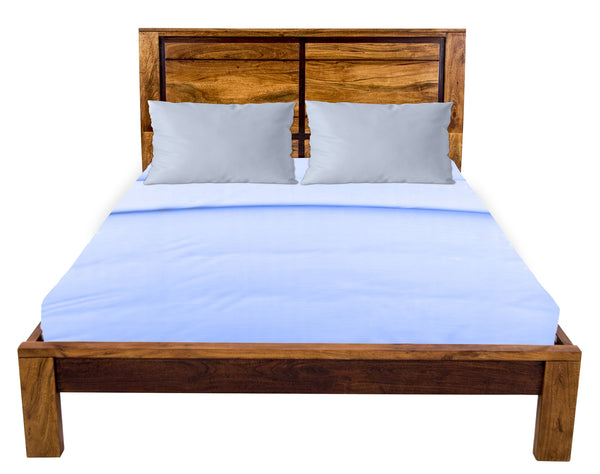 Front view of Queen Bed furniture