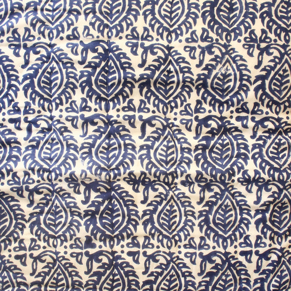 Blue Cotton Quilt - Single