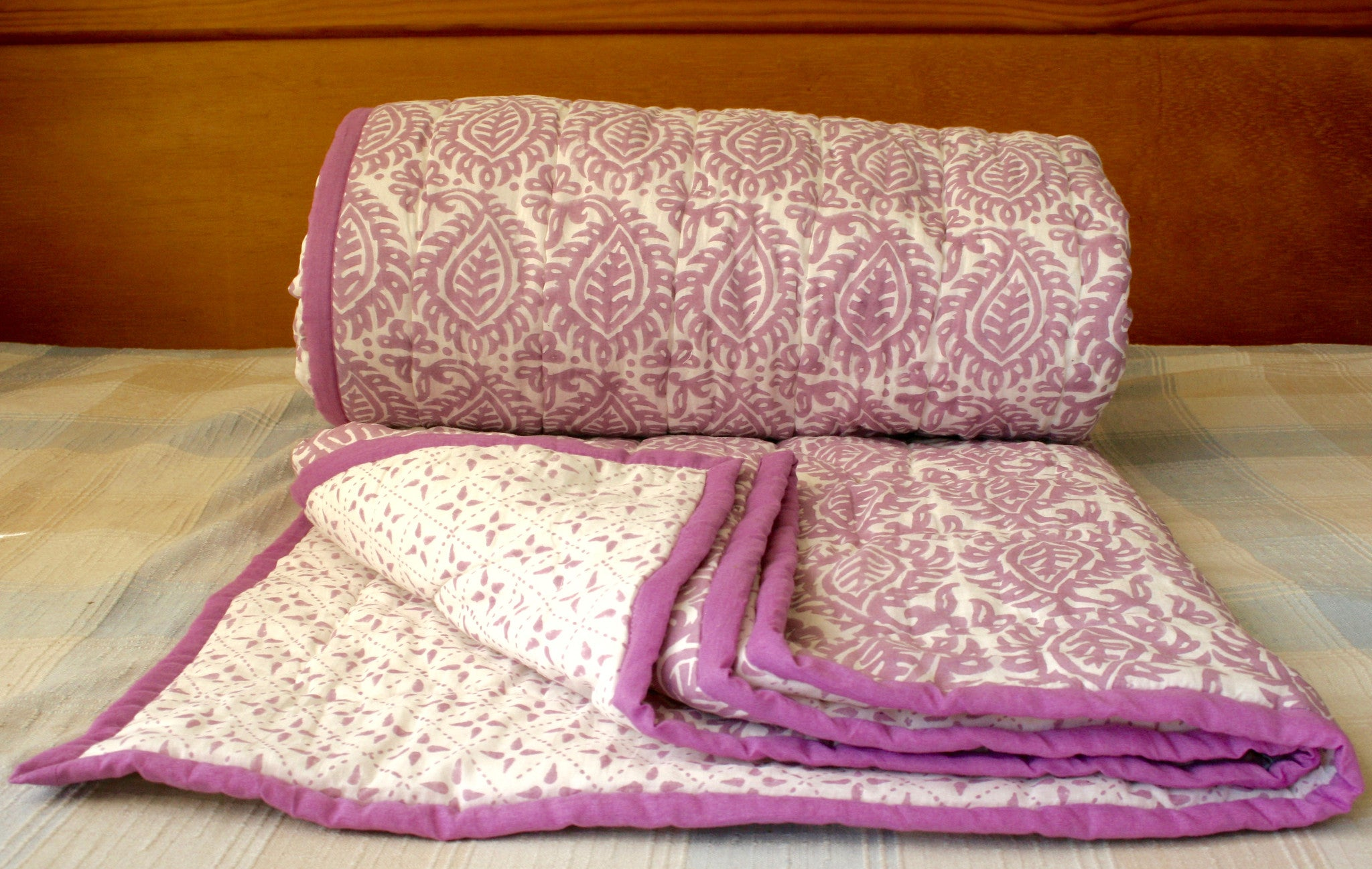 Mauve Cotton Quilt