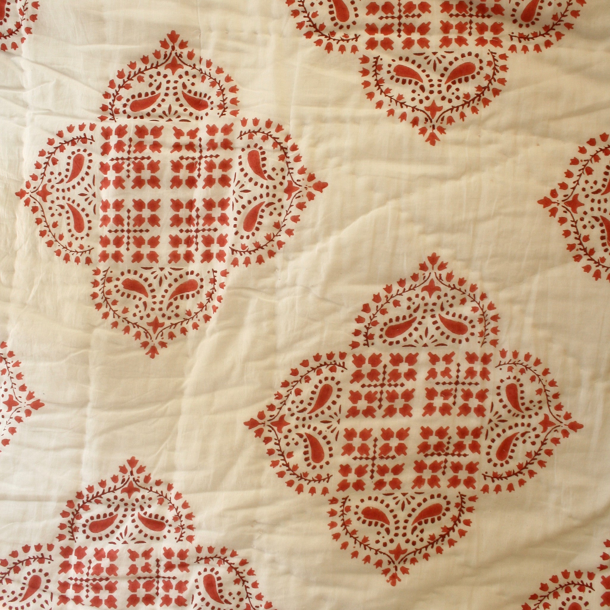 Pink Coral Cotton Quilt