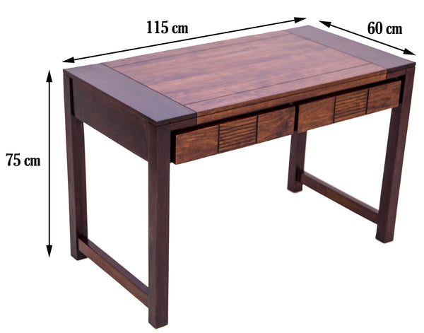 dimensions of the study table