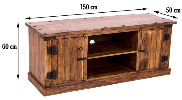 dimensions of Rustic TV Unit