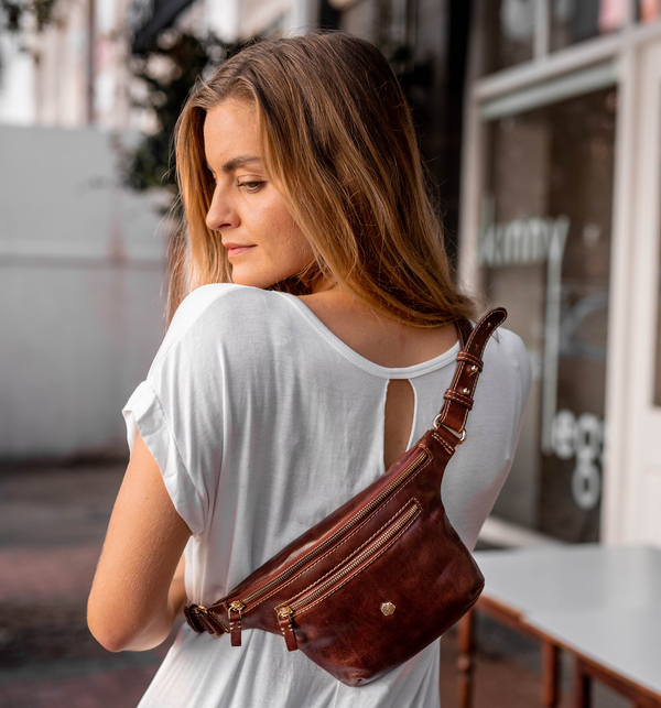 "FANNYPACKS ARE BACK AS ULTRA CHIC ""WAISTBAGS"", AND WE ARE HERE FOR IT"