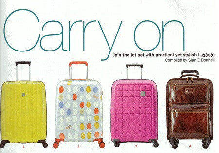 Our Oxford 4 wheel RFID cabin trolley featured in this week's S Magazine