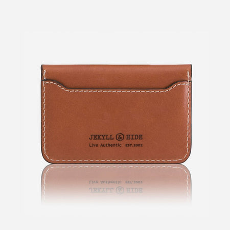 Slim Card Pouch, Tan