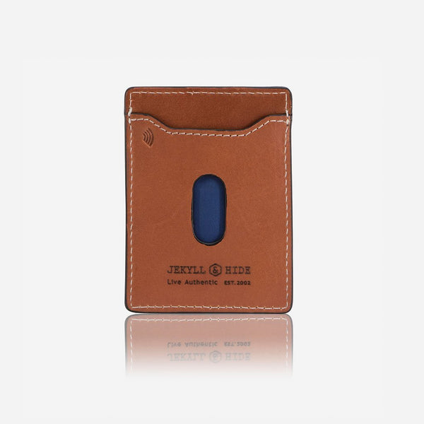 Card Holders - Money Clip Wallet, Tan