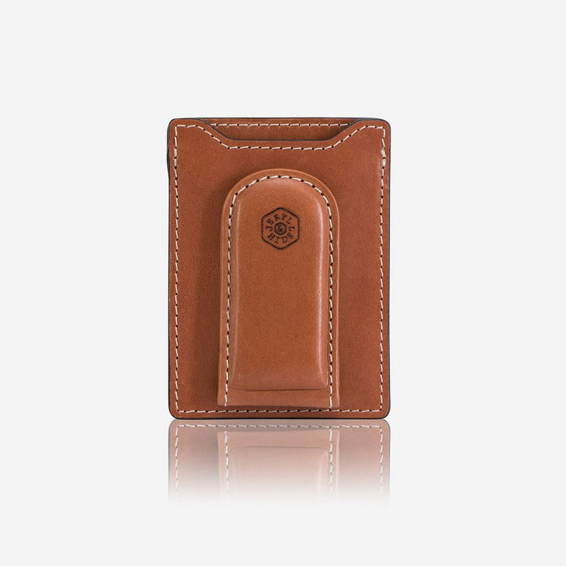 Money Clip Wallet, Tan