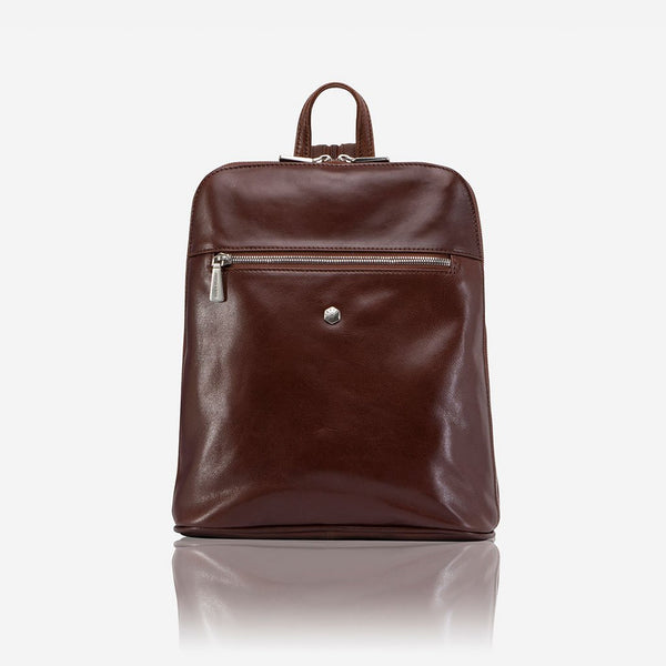 Women's Sale - Slim Ladies Backpack, Burgundy