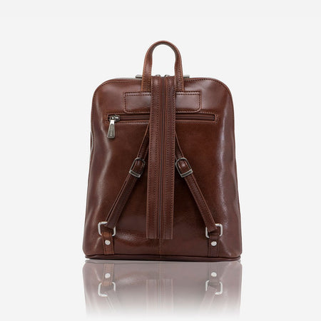 Slim Ladies Backpack, Burgundy
