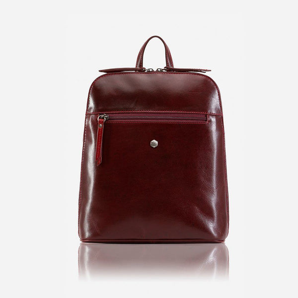 Women's Sale - Slim Ladies Backpack, Rust