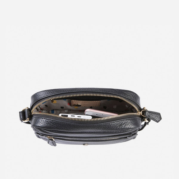 Valentine's Day - Small Crossbody, Black