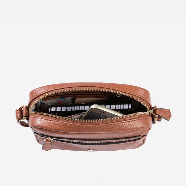 Black Friday Women's Collection - Small Crossbody Bag, Nut