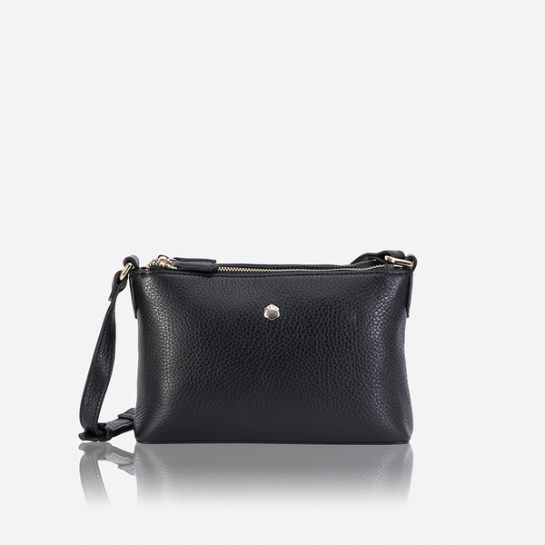 Capri - Ladies Crossbody Bag, Black