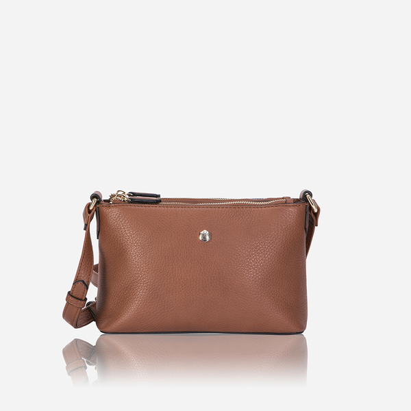 Capri - Ladies Crossbody Bag, Nut